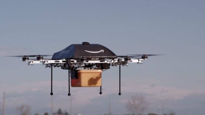 Квадрокоптер – как средство доставки